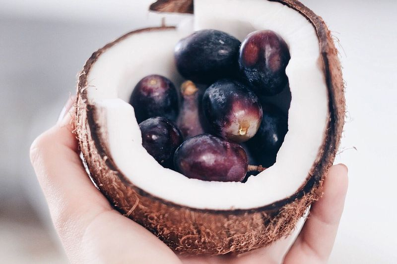 Food Fruit Healthy Eating Freshness Lifestyles Coconut Healthy
