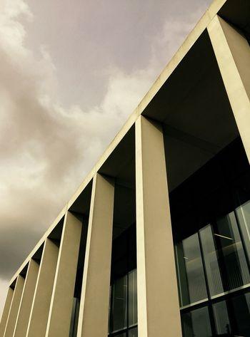 Modern Architecture Architecture_collection EyeEm Best Shots - Architecture The Architect - 2015 EyeEm Awards Columns Brutalism Shadows & Lights Contrasts TheMarloweTheatre Shadows