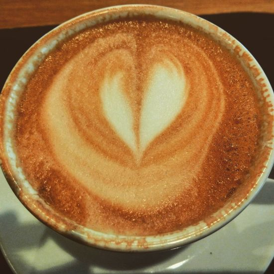 ♥ Coffee Frothy Drink Latte Coffee - Drink