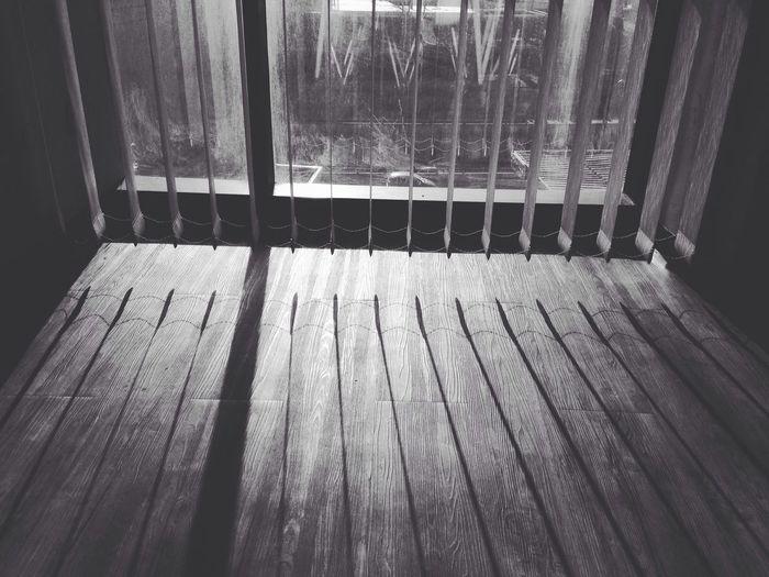 Curtains meet sun