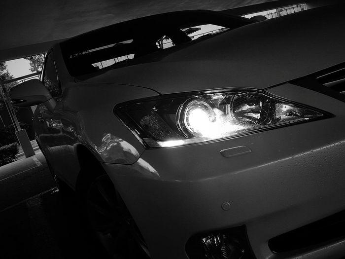 Lexus Es240 Black And White