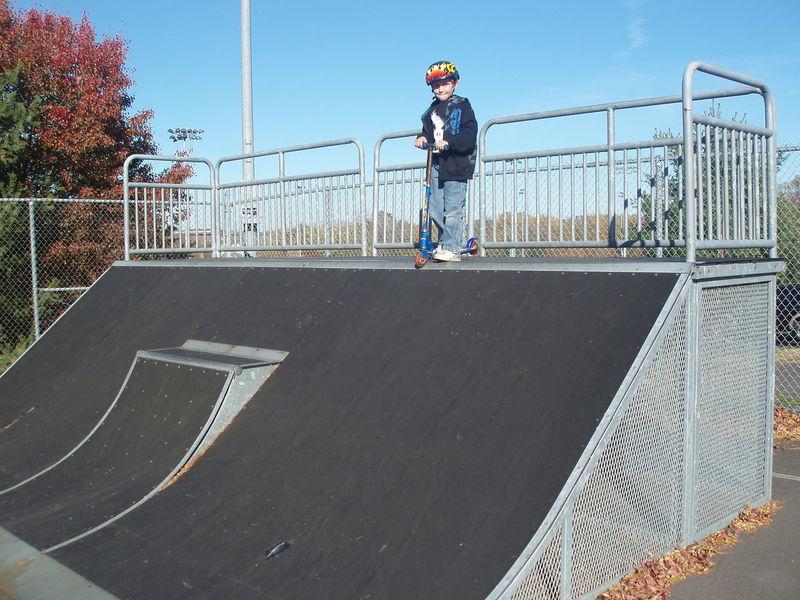 Adventure Club Day Excitement Fun Leisure Activity Lifestyles Outdoors Ramp Scooter Skateboard Park EyEm Selects Xgames  Exhilaration Sports Helmet Stunt Crash Helmet Extreme Sports Stunt Person