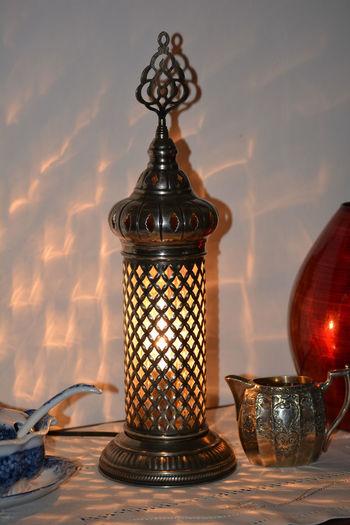 Close-up Day Gift Illuminated Indoors  No People Souvenir Table Turkish Turkish Lamp