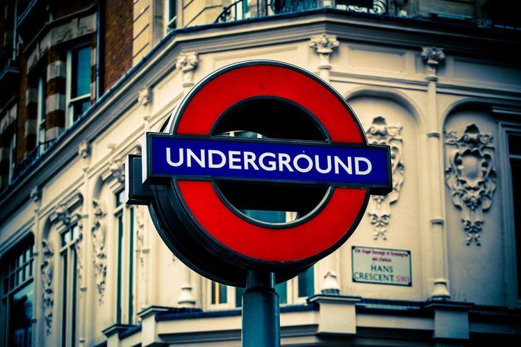 Underground London Taking Photos Traveling