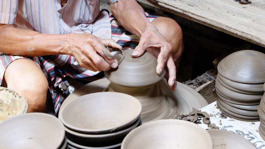 Craft Earthenware Occupation Pottery Pottery Making Working EyeEmNewHere