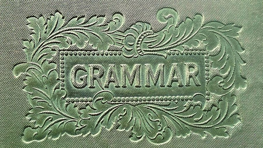 Grammar Lettering No People Close-up Ornate English Bookporn Book Backgrounds Text Communication