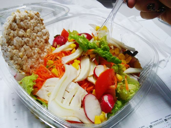 Show Us Your Takeaway! Salad Healthy Food Colour Of Life