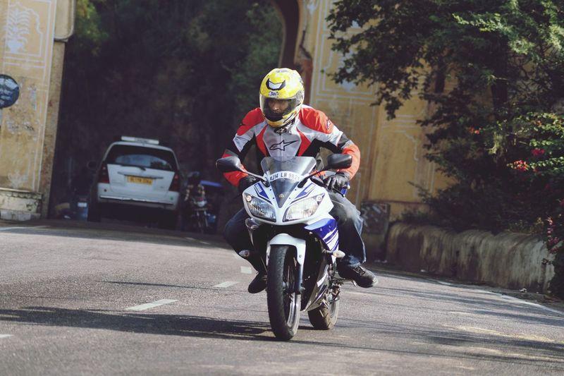 Ride Yamaha R15 Morningride Lovethisshot First Eyeem Photo