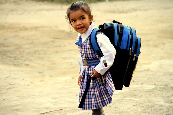 sweet.. girl... Back To School Child Childhood Day Education Education First ! Girl Girl Power Portrait School Children EyeEmNewHere Business Stories