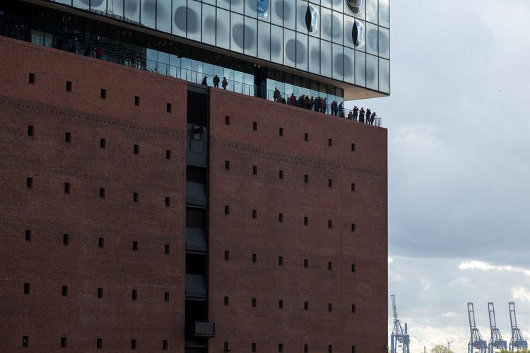 Architecture Day Elbphilharmonie Plaza Hamburg Harbor Outdoors The Architect - 2017 EyeEm Awards