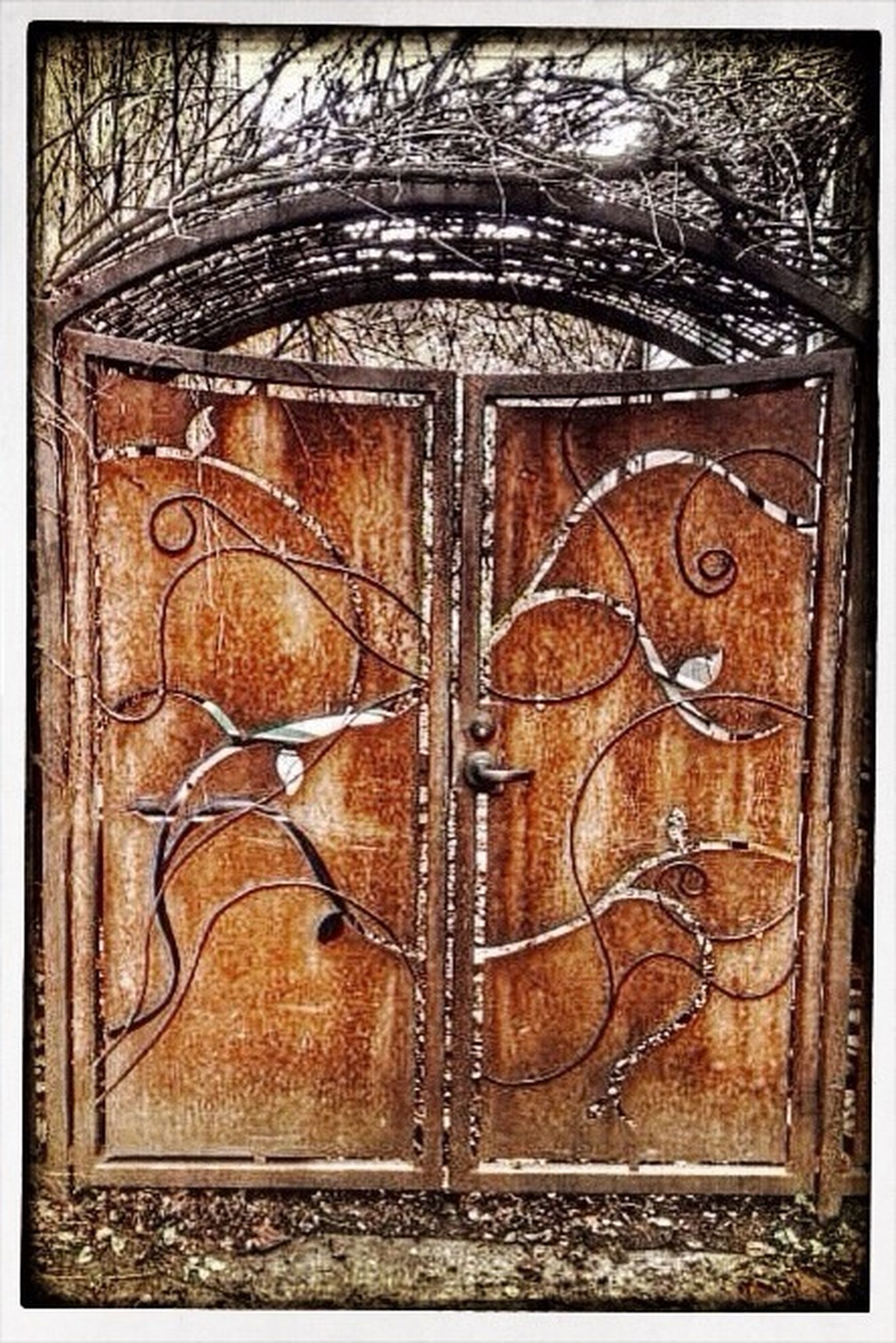 transfer print, art and craft, art, door, auto post production filter, close-up, wood - material, creativity, built structure, wooden, architecture, old, design, wall - building feature, metal, closed, pattern, full frame, building exterior, weathered