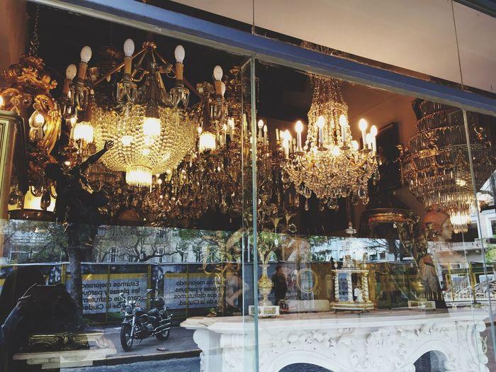 Store Antique Antique Shop Window Store Window Window Shopping Shop Window Lamps Chandelier Old Lamp Reflection Vintage Retro Vintage Decor Decoration