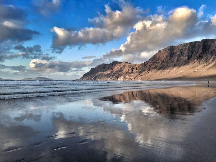 Famara😍🍒 Lanzarote Landscape Amazing Canary Islands