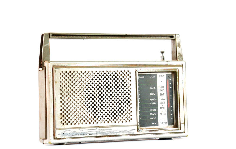 vintage radio,dusty and dirty Dusty Entertainment Music No People Old Radio Symbol Transistor Vinateg First Eyeem Photo