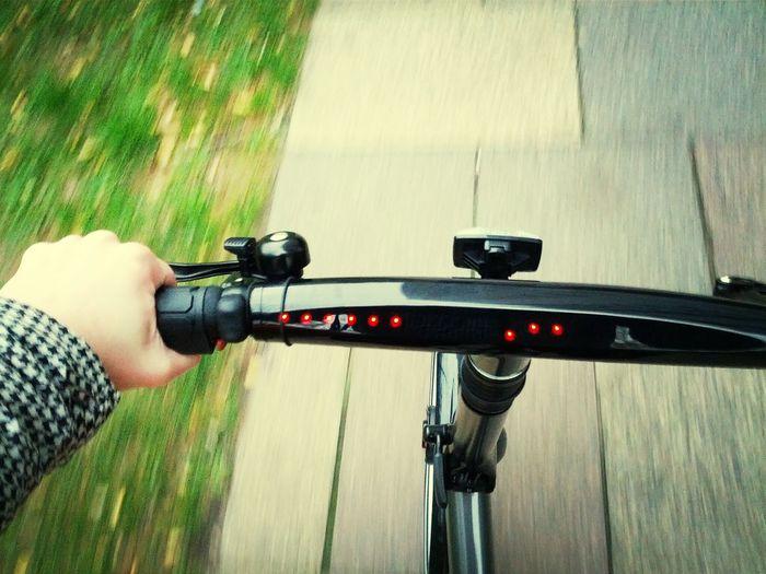 Look, ma, I'm Knight Rider!! My 80s dream come true. Gocycle Ebike