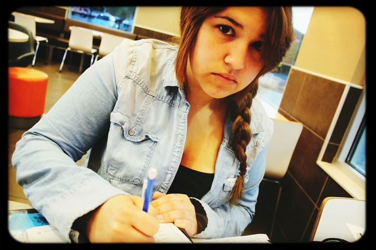 This is my Love :) Old picture, we were at McDonalds ^·^