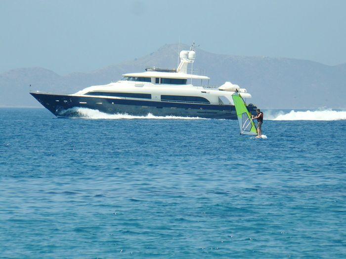 Bodrum Turgutreis  Armonia Yacht Boat Windsurf