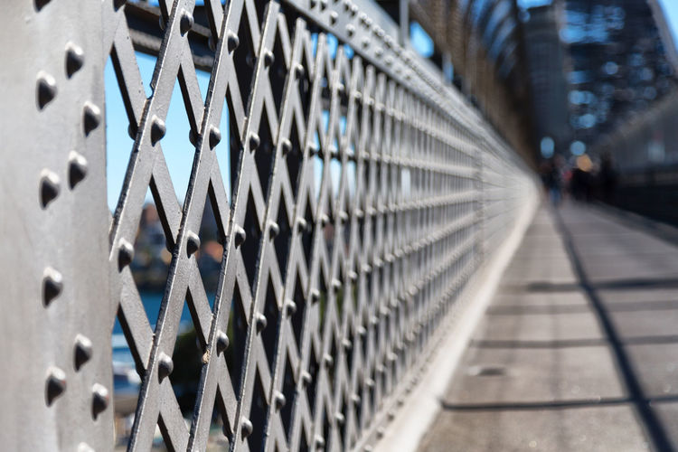 Bridge Steel Metal Grid Abstract Background Design Architecture Construction Structure Pattern Black Building Texture White Iron Fence Industrial View Shape Silhouette Technology Modern Glass Art Australia Sidney Railing Wallpaper Space Blur Concept Vintage Detail Industry Mesh Wire Pole Minimal Wall Perspective Nobody Protection Metallic Geometry Surface Old Urban Security Outdoor