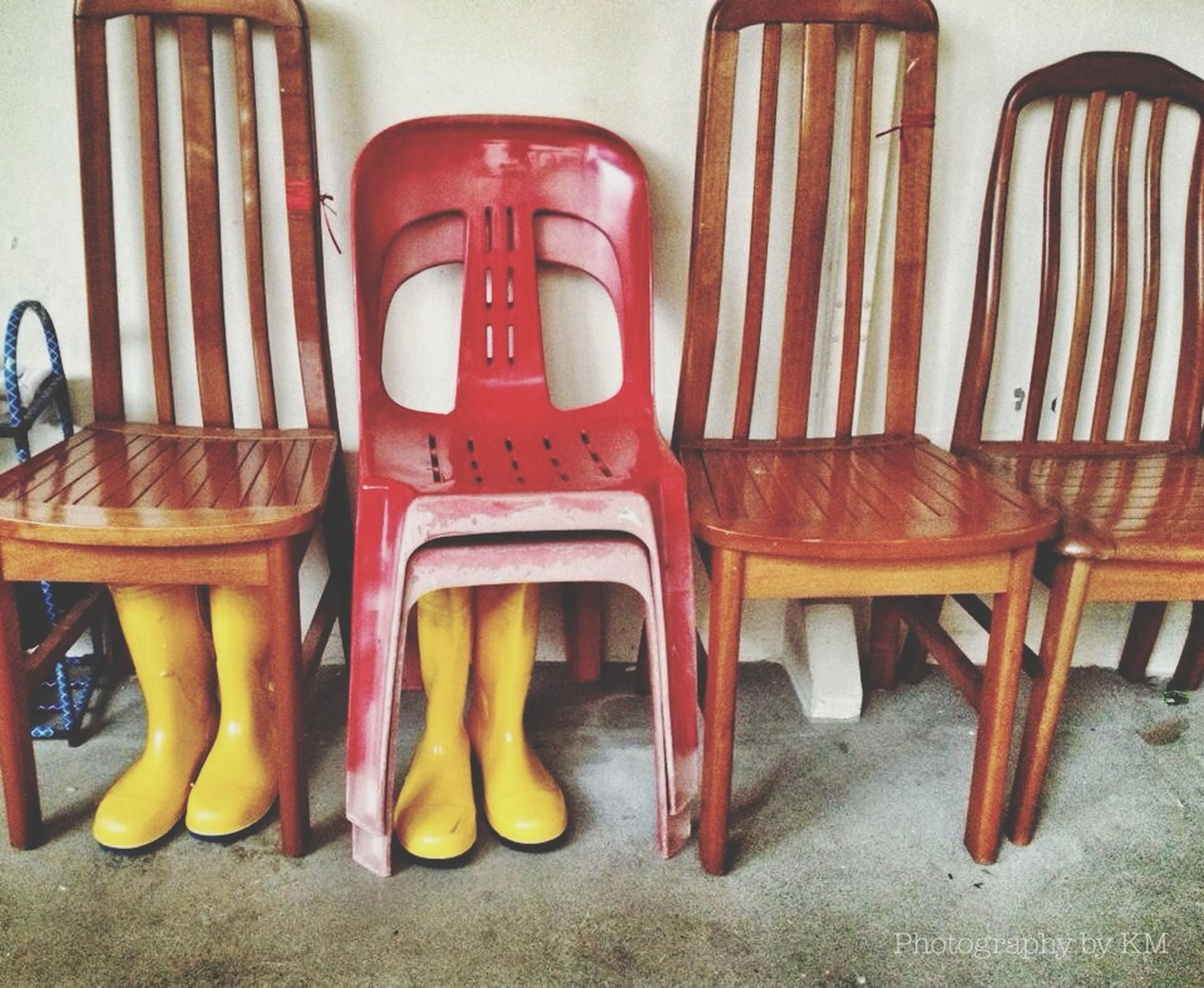 indoors, still life, table, chair, absence, empty, variation, high angle view, no people, group of objects, choice, furniture, seat, arrangement, large group of objects, side by side, plastic, stack, wood - material, close-up