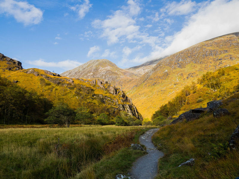 Ben Nevis Gorge Grass Landscape Mountain Nature Outdoors Scotland Senic The Great Outdoors - 2016 EyeEm Awards The Great Outdoors With Adobe
