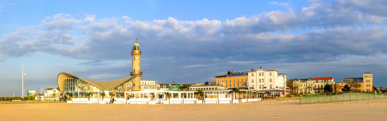 Warnemünde, Rostock, Germany Germany Building Exterior Architecture Building City Cityscape Houses Warnemünde Rostock Landscape Nature Village Ocean Baltic Sea Clouds Family Family Vacation Panorama Beach Ostsee