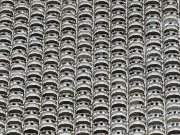 In A Row Full Frame Pattern Backgrounds No People Large Group Of Objects Day Close-up Outdoors Pattern, Texture, Shape And Form Balcony The Architect - 2017 EyeEm Awards The Graphic City