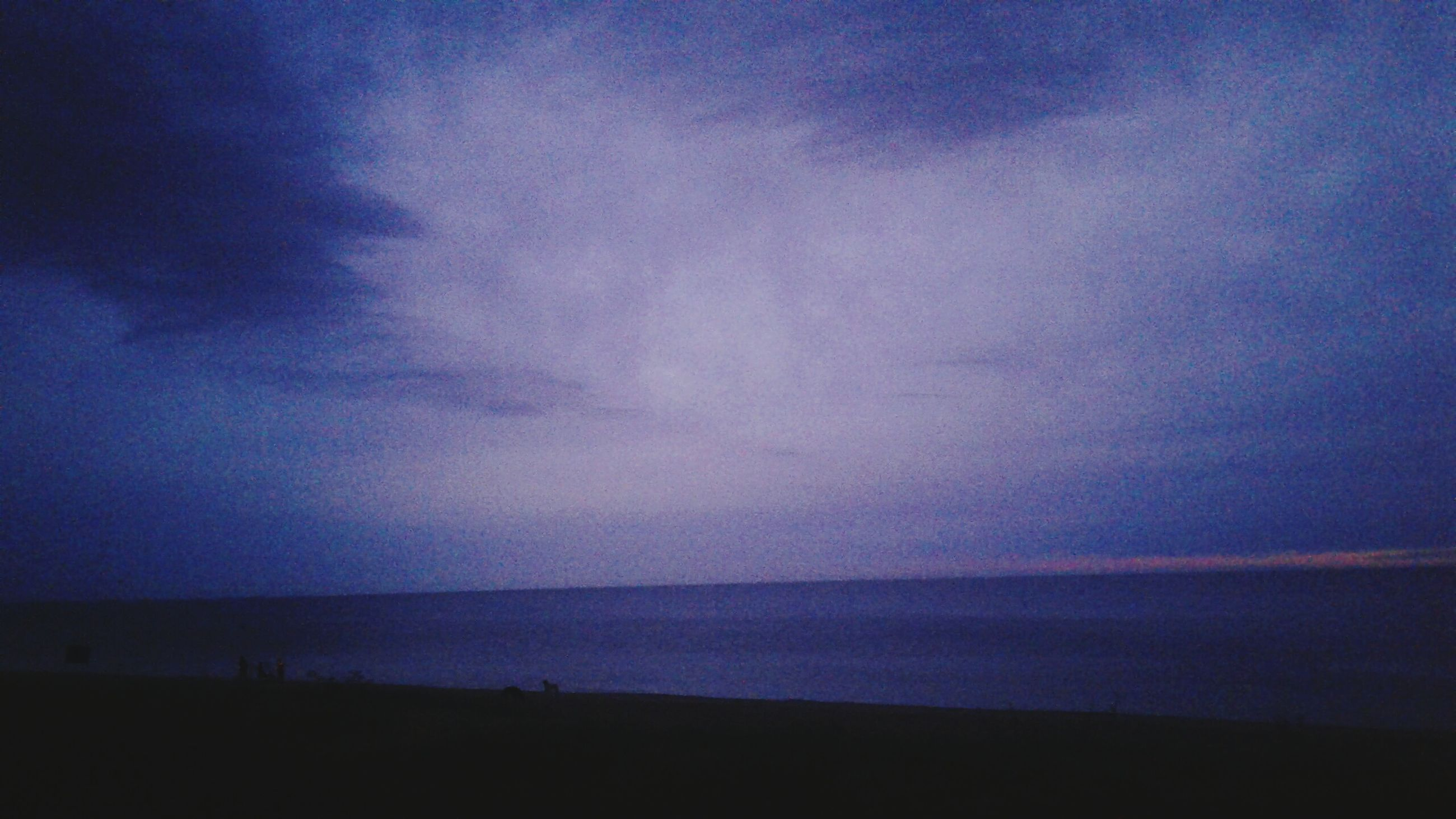 sea, sky, nature, beauty in nature, scenics, tranquil scene, water, tranquility, horizon over water, beach, outdoors, no people, night, astronomy, galaxy