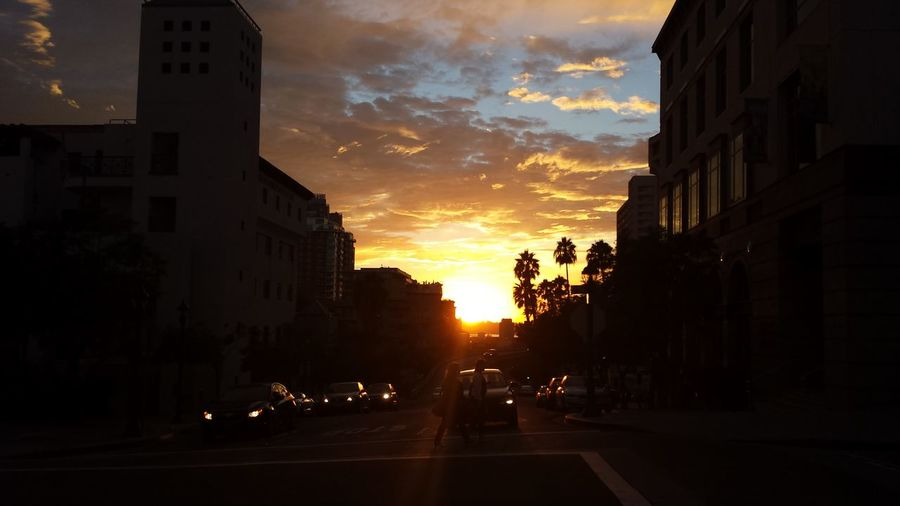 Sunset Showingoff Sandiego Clouds Cloudjunky Vibrant Color Cloudjunky