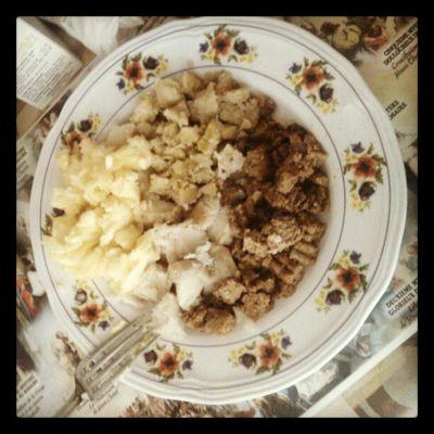 Instafood InstaLocal Ti-Nain, Fruit-Apain, Igname Pakala et Steak