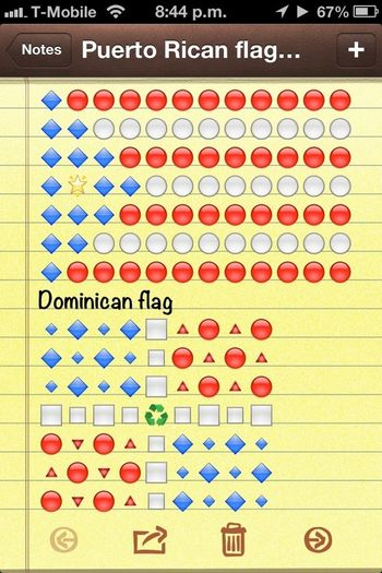Puerto Rican & Dominican Flag