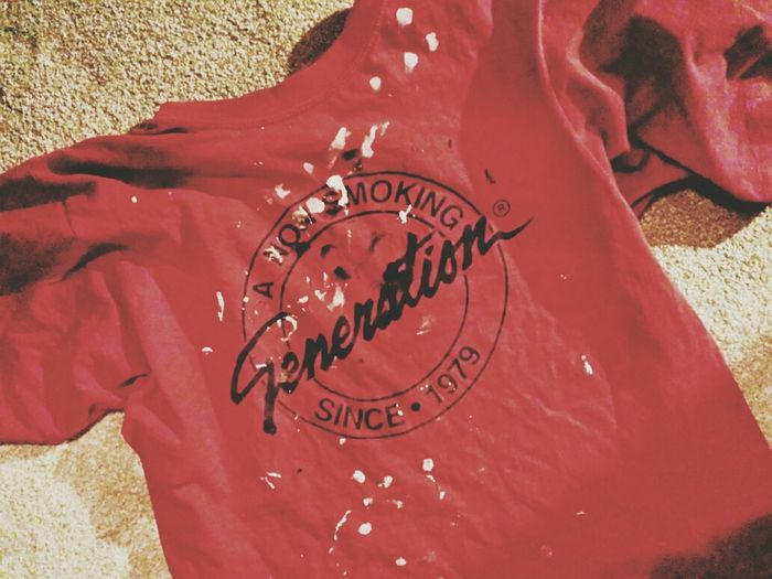 Remember this? Nonsmoker Non Smoking Generation VSCO Cam T-shirt