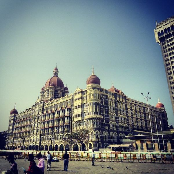 """The Taj Mahal Palace Hotel in its full grandeur"". Tajmahalpalace Tajmahal Mumbai Morning Northindia Indiaphotography Indiatravel India ASIA Traveldiaries Travel Roadtrippin Roadtrip Instagram Picoftheday Incredibleindia Lovely Lovelyday Instapic Perfect Photography Lifeisgood Landscape Dome Rich heritage natgeotravelpic amazing captures cloudstagram"