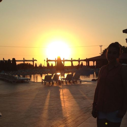 No Filter Sunset That's Me Enjoying Life