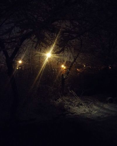 ❄ Snow ❄ Cold Winter Goodnight World