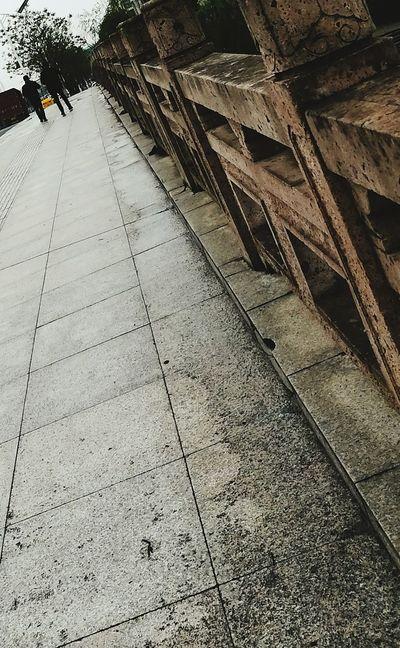 The Way Forward Bridge Railing Outdoors