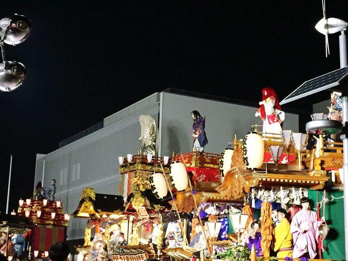 秋の夜祭り Night Festival