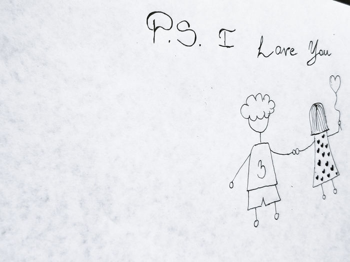 PS I LOVE YOU Couple EyeEmNewHere Holding Hands Love Ps I Love You Relationship Young Close-up Cute Day Education Formula Handmade In Love Indoors  Musical Note No People Paper Ps Science