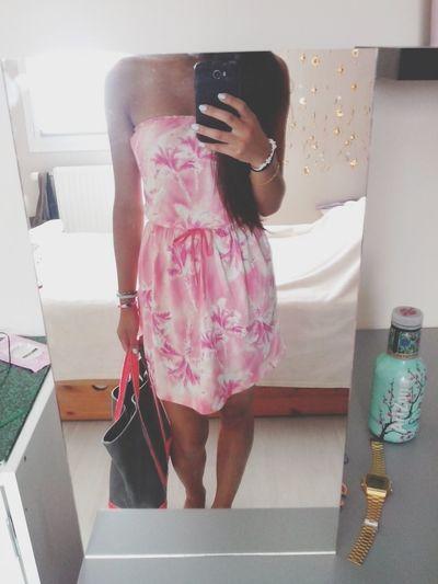 Ootd HOLLISTER Pink Summer