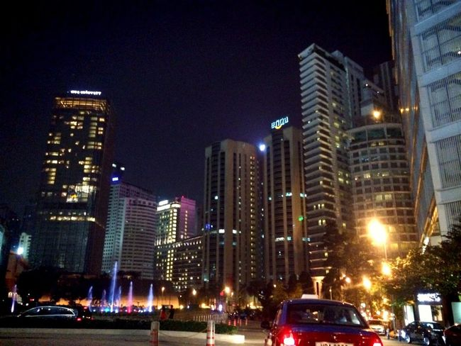 Night Scene Kuala Lumpur City Light