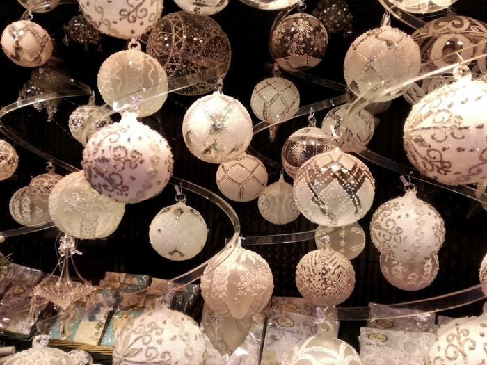 EyeEm Selects Large Group Of Objects Abundance Full Frame No People Backgrounds Hanging Indoors  Day Close-up Spirit Of Christmas Chtistmas Season X-mas Is In The Air🎄🎅 Christkindlmarkt Christmas Ornament Christmas Decoration Xmas Decorations Xmas Bauble