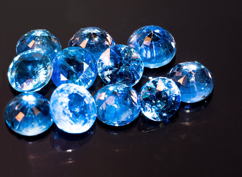 Blue Sapphires Backgrounds Blue Brilliant Close-up Full Frame Gemstone  Gemstones Getting Inspired Glass Jewel Sapphire Sapphire Blue Sapphireblue Shiny Sphere