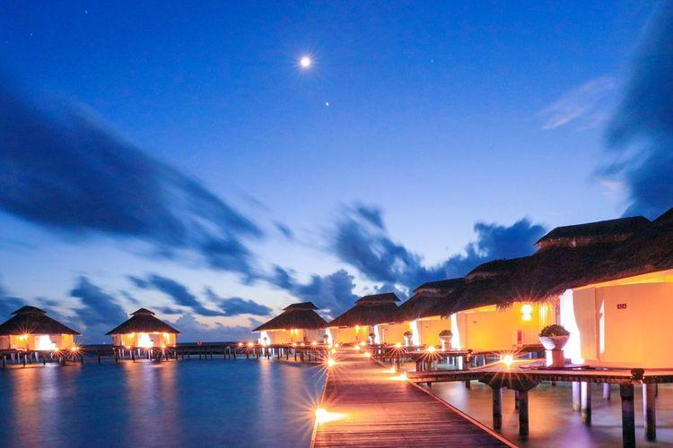 moonlit light Colour Of Life Eliaidhoo island Taking Photos Hi!