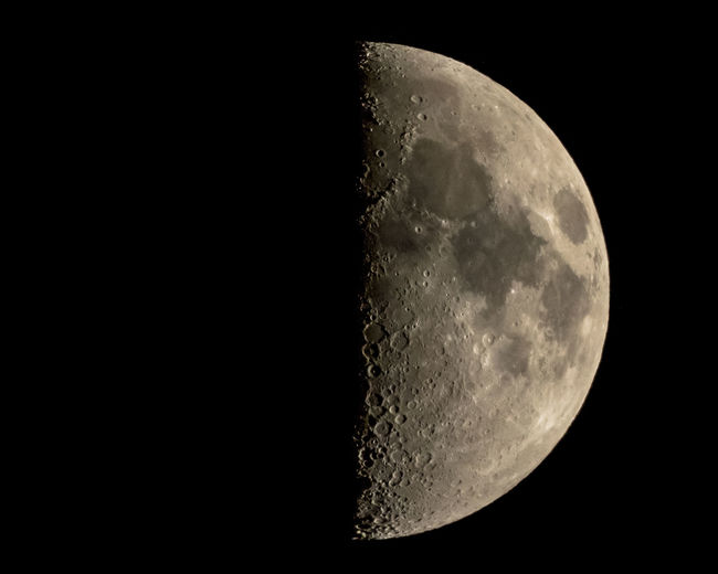 Your soul mate right next to you 🌚 — Moon First Quarter — In 2011, 12 April was declared as the International Day of Human Space Flight in dedication of the first manned space flight made on 12 April 1961 Space Astronomy Moon Night Moon Surface Sky Beauty In Nature Planetary Moon Half Moon No People Copy Space Nature Scenics - Nature Close-up Tranquility Space Exploration Tranquil Scene Exploration Majestic Outdoors Dark Semi-circle Astrology Space And Astronomy Moonlight Cosmonauticsday Spacetravel Cosmonauts Alley Soulmate Dayofhumanspaceflight YuriGagarin