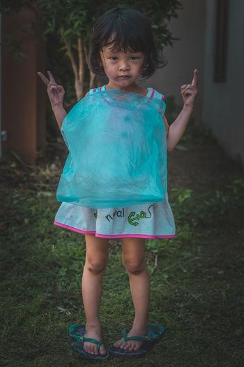 OOTD - Serial Killer Portrait Outfit Ootd Kids Kid Fashion Asian  Yogyakarta Tree Smiling Posing