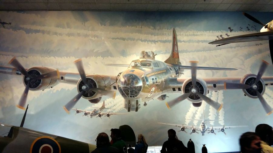 Airplane Flying Hight Indoors  Light Low Angle View Museum Photography Themes Plane War Plane