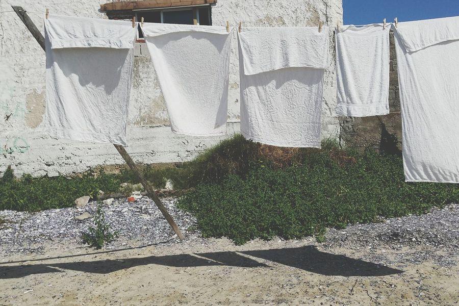 Towels Clothesline Cabo Polonio Uruguay