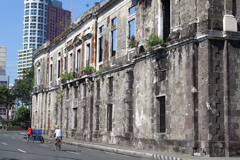 """1/2 The old University of Santo Tomas. First called """"Colegio Seminario de Santo Tomas de Nuestra Senora del Rosario"""" The oldest University in Asia. Founded in 1611. The campus moved to, Sampaloc Manila in 1927. Building destroyed in 1945 during Battle of Manila. Granted the title of Catholic University of the Philippines by Pope Leo XII in 1947. Manila, Philippines , Historical Building Historical Place Intramuros,manila"""