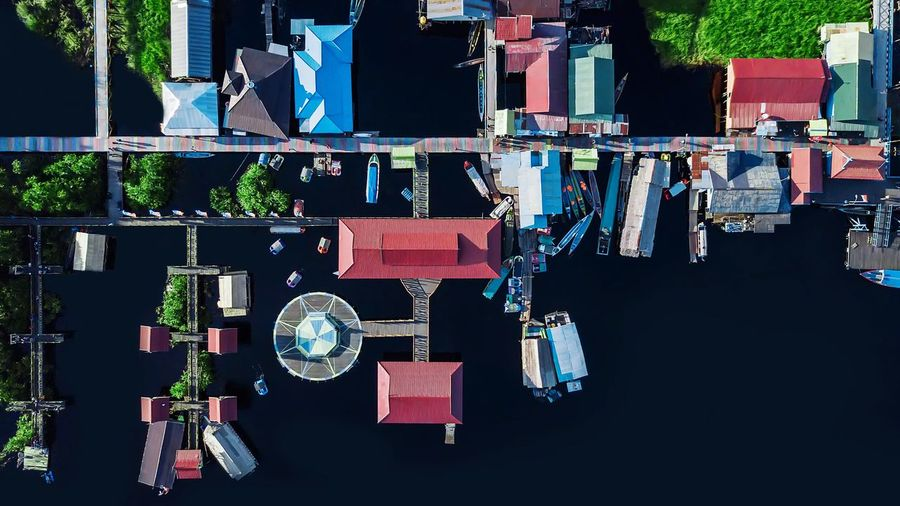 Dermaga Kereng Bangkirai Recreation  Holidayplaces Drone  Dronephotography Dock For Sale