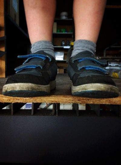 Feet No Faces Shoes Legs From My Point Of View Abstract Portrait Fatherhood Moments This Is Masculinity