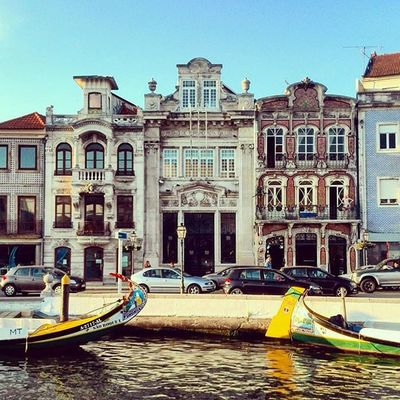 When in Venice... the Portuguese one. Latergramming Aveiro Gondola Portugal Igersportugal Portugal_em_fotos Finditliveit